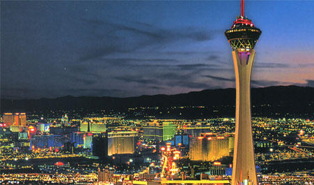 The Stratosphere Casino has applied for an online gaming licence